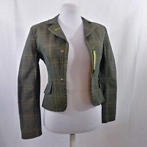 Coat Blazer Sixty Cotton Miss Sz Shoulder Pads Småforet Jacket dOYx54w5