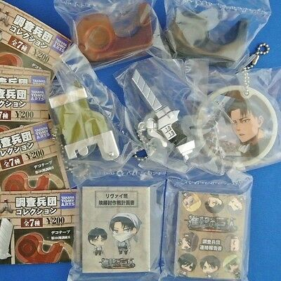 Attack on Titan : Survey Corps Collection - Key Chain Pen Major Note Deco-Tape