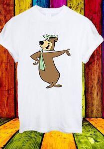 Yogi bear cartoon character boo boo cindy ranger men women unisex t