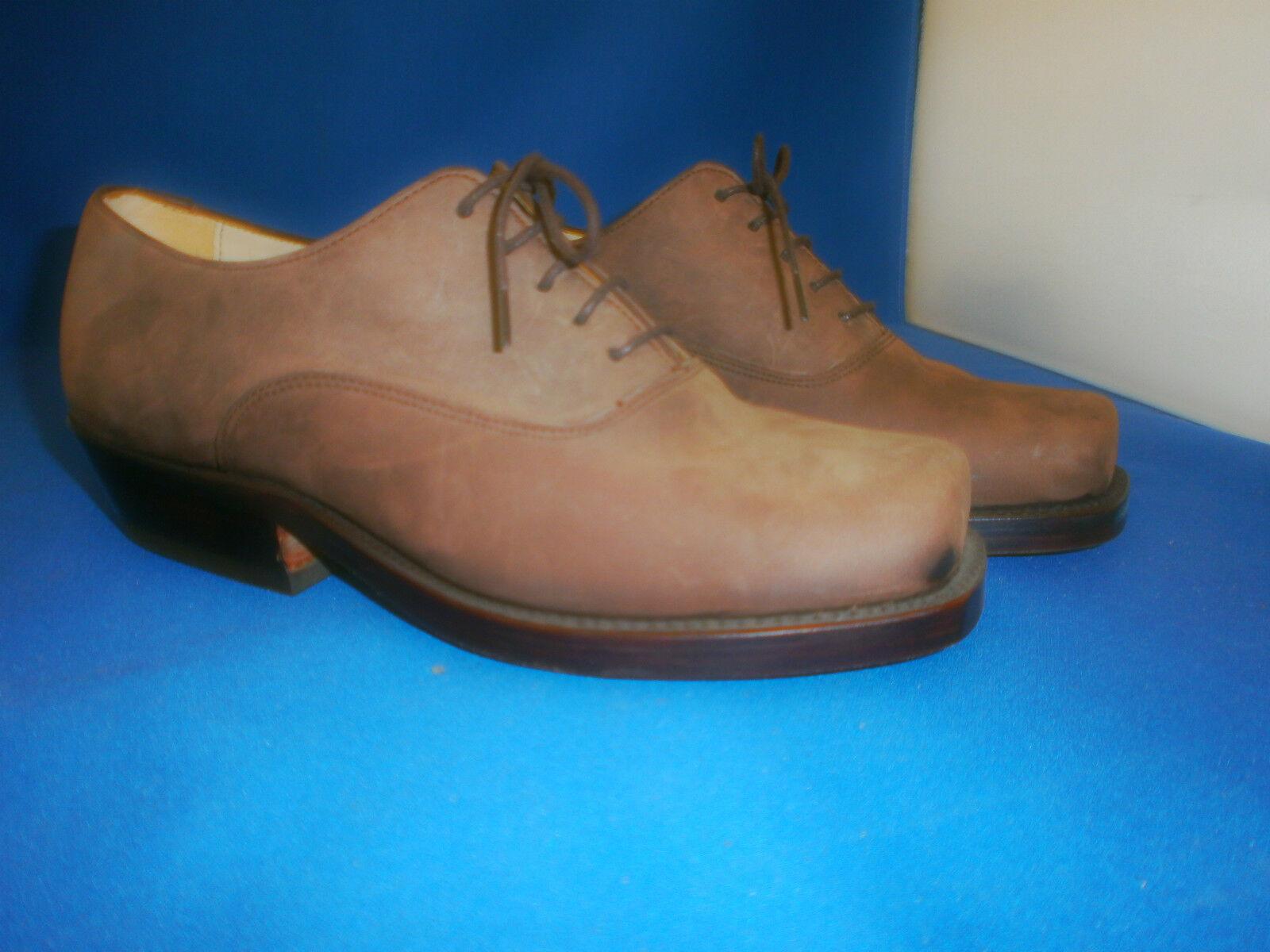 sendra ramblas schuh boots western   halbschuh leder mokk neu gr. 40
