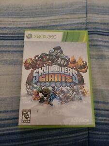 Skylanders: Giants (Microsoft Xbox 360, 2012) Not for Resale version