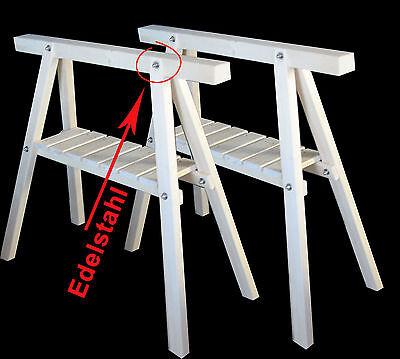 Genial Stützböcke In Kiefer 2 Neue Arbeitsböcke,montageböcke,profi-holzbock,gerüstböcke