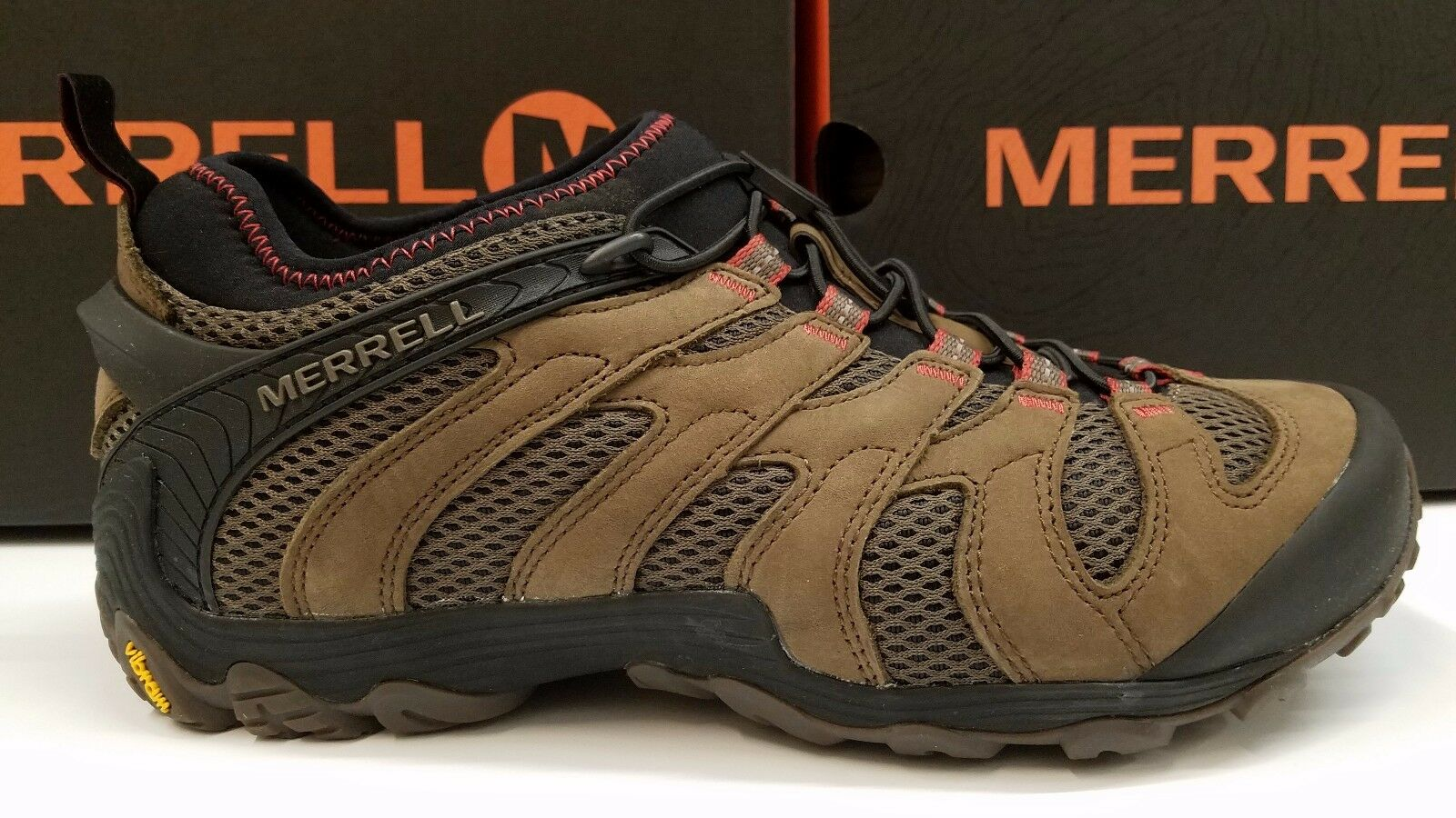 MERRELL Uomo HIKING CHAMELEON CHAMELEON HIKING 7 STRETCH BOULDER SIZE 11.5 2dd1e9