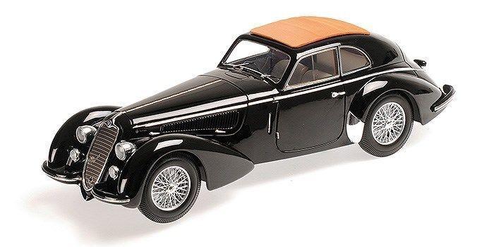 Minichamps 1938 Alfa Romeo 8C 2900 lungo Negro 1 18   Artículo Nuevo