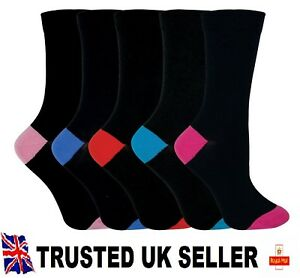 15 pairs luxury women/'s ladies design coloured socks cotton UK size 4-6 MKJRFGT