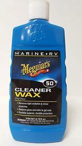 Meguiars M5016 Cleaner Wax 16 Oz Marine Rv