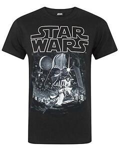 Star-Wars-A-New-Hope-Poster-Men-039-s-T-Shirt