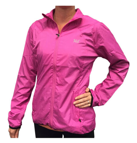 401520101 2 Color Choices 361 Degrees Women/'s Full Zip Windbreaker Jacket