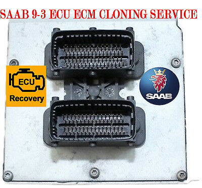Plug & Play 2003-2011 Saab 9-3 ECU ECM Trionic 8 Replacement Cloning