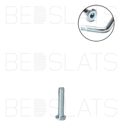 allen clé lecteur FLATHEAD M8 x 40mm meubles connecteur reliant Boulons-hex