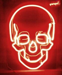 Details about New Skull Light Lamp Beer Neon Sign 17