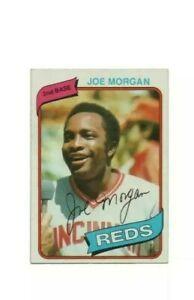 1980 Topps Joe Morgan #650 Baseball Card - Cincinnati Reds HOF