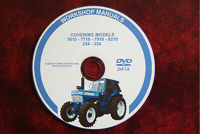 Ford Tractor 10 series manual de servicio de taller de 2610 3610 4110 4610 5610 6610