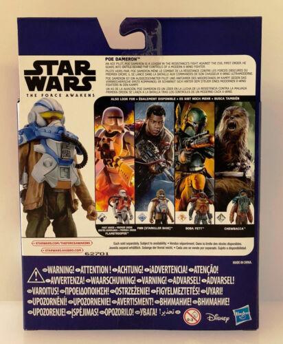STAR Wars la forza si sveglia 3.75 pollici Armour Figura missione spaziale-POE dameron