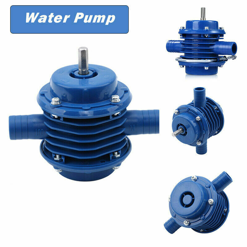 Small Drill Pump Self-priming Hand Drill Powered Water Pump Portable Miniature