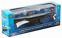 """Motor Max 1 1250 9.5"""" Diecast USS Independence CV-62 Aircraft Carrier w Stand Toys"""