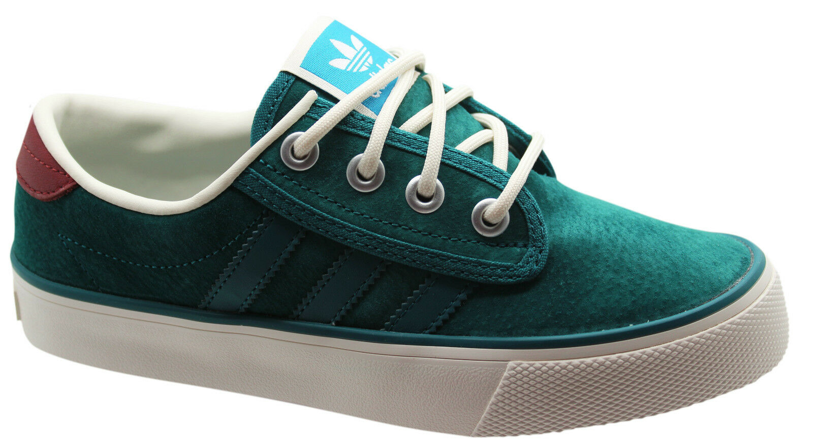 Adidas Originals Kiel Mens Trainers Unisex Shoes Teal Green Leather C76741 D67 Cheap and beautiful fashion