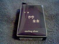 Brand Girl's Sterling Silver Earrings