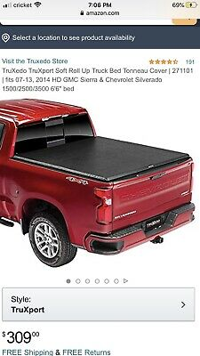 Truxedo Truxport Tonneau Cover For 07 13 Gm Full Size 6 6in Bed 271101 Ebay