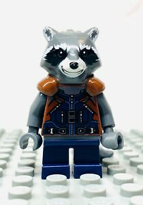 Marvel Avengers Figurine New Lego Super Heroes Rocket Raccoon sh384 From 76079