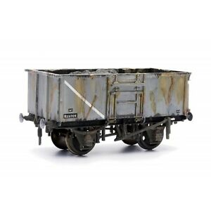 16-Ton-Steel-Mineral-Wagon-Dapol-Kitmaster-C037-OO-plastic-model-kit