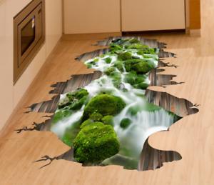 3D Bedroom Floor Wall Stickers Murals Decal Vinyl Home Waterproof Decor HH5533