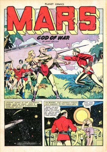 Planet Comics #66 Photocopy Comic Book