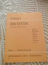 Die Etüde für Klavier Band 1 No 178 100 kleine Übungsstücke Wiehmayer Notenheft