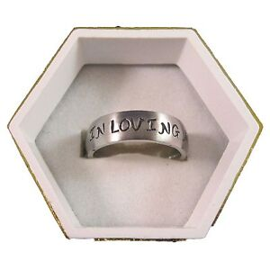 New-Stainless-Steel-8mm-Wide-In-Loving-Memory-Personalized-Engraved-Name-Ring