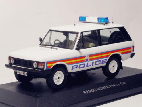1/43 Land Range Rover coche de policía