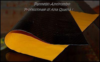 PANNELLO ANTIROMBO ADESIVO FONOASSORBENTE INSONORIZZANTE ANTIVIBRANT.TUNING