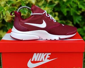 cb0a098d2868 BNWB   Authentic NIKE AIR Presto Fly ® Dark Team Red Trainers UK ...