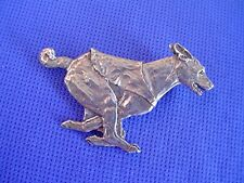 "Basenji Pin Lure Coursing ""SPEED"" #40Dc Pewter Dog Jewelry by Cindy A. Conter"