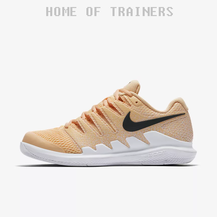 Nike Air Zoom Vapor X Clay Tinte Mandarina Blanc Girl Femme Trainers All Taille