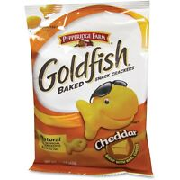 Campbell's Baked Goldfish Crackers 1.5oz. 72/ct Cheddar 13539 on sale