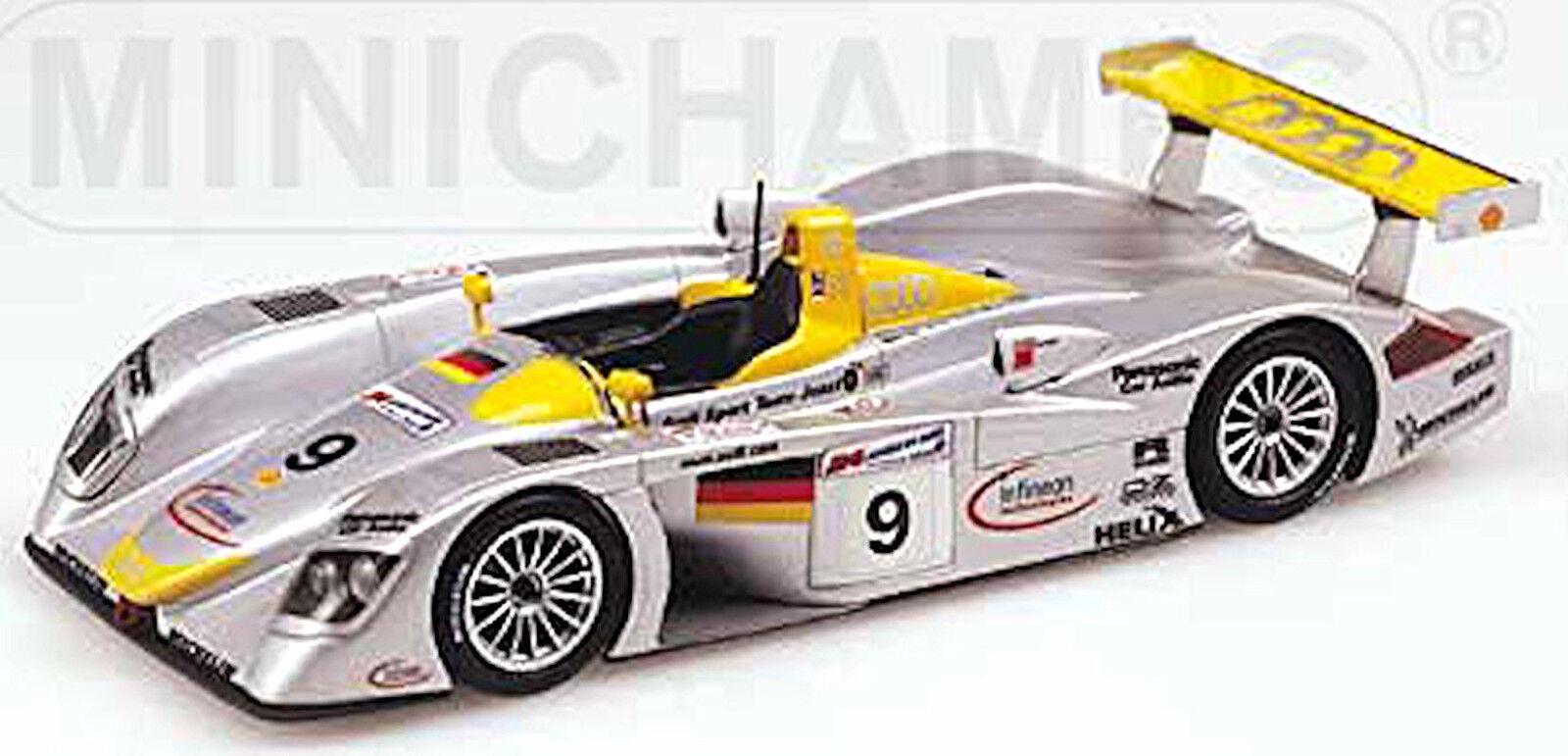 Audi r8r Le Mans 2000 Aiello McNisch Ortelli  9 Équipe Joest 1 43 Minichamps