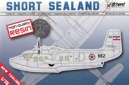 Short SA.6 Sealand lhm015// Lift Here Models 1//72 RARITÄT Resin