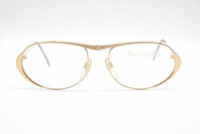 Aufrichtig Vintage Renato Balestra Rb514 56[]17 135 Gold Oval Brille Eyeglasses Nos Starker Widerstand Gegen Hitze Und Starkes Tragen