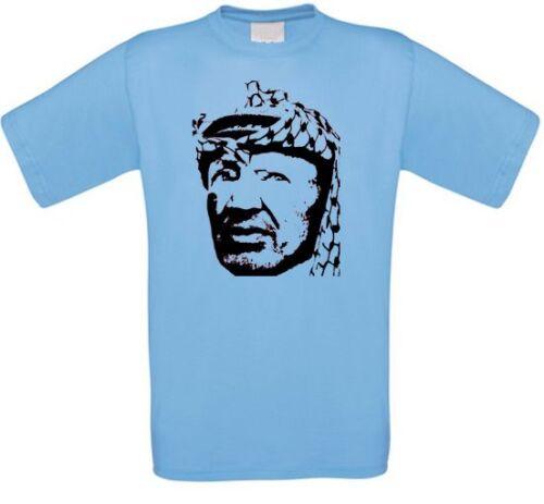 Yassir Arafat Palestine Palestine Arab Revolution Intifada T-Shirt New