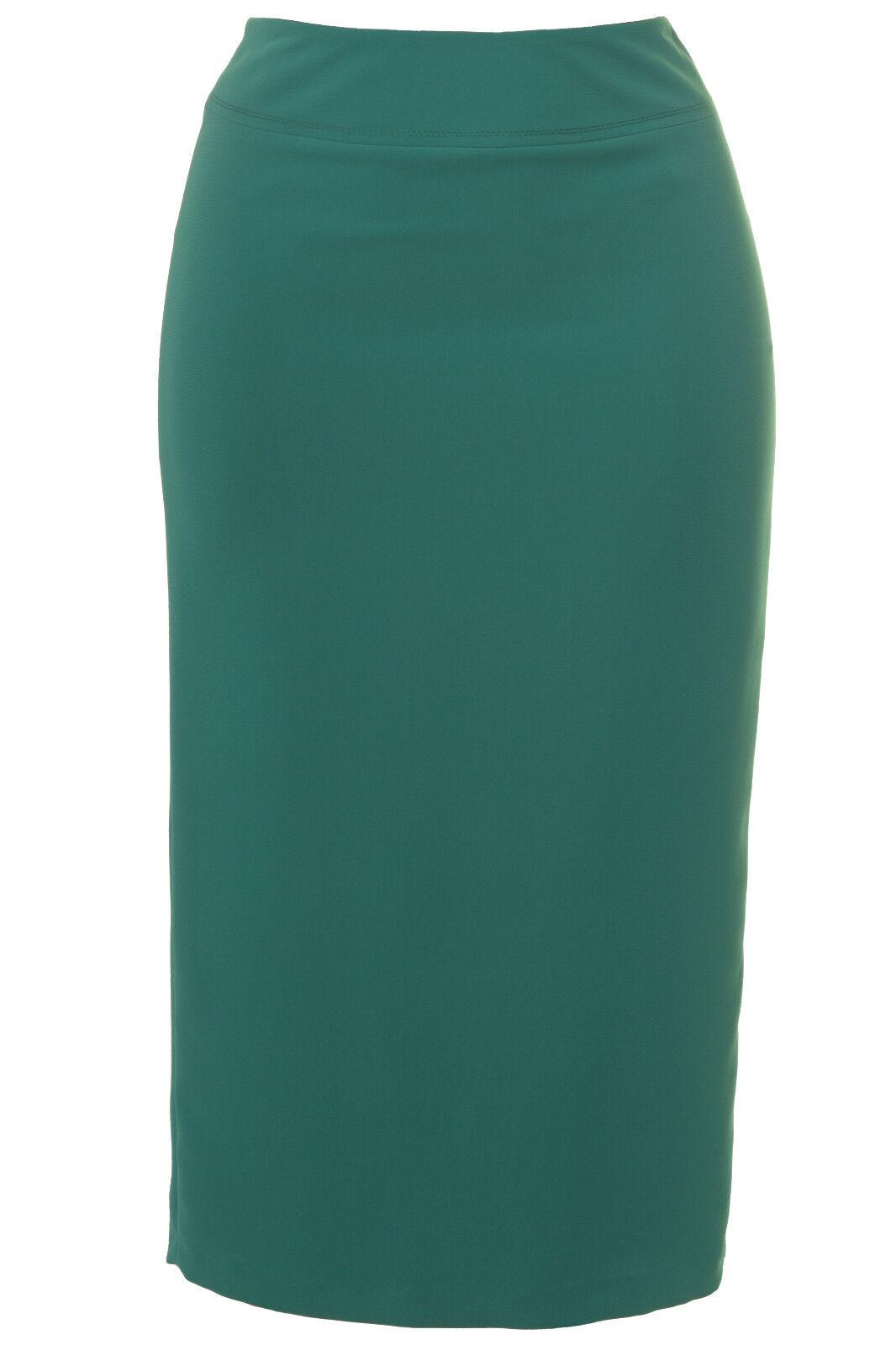 Busy Womens Jade Green Long Skirt