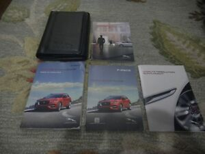 2016-JAGUAR-F-PACE-OWNERS-MANUAL-SET-WITH-CASE-FREE-SHIPPING