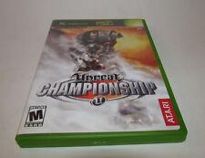 Unreal Championship (Xbox, 2002) Complete CIB Mint w/ Registration Card