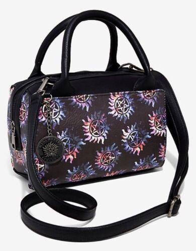 Supernatural Galaxy Anti-Possession Symbol Barrel Bag