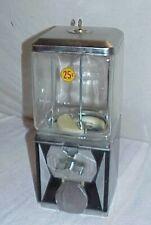 Aampa Co Gumball Vending Machine 25 Cent Glass Square Northwestern Globe