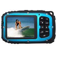 16mp Underwater Digital Video Camera, 30ft Waterproof Dustproof Freezeproof P6w6