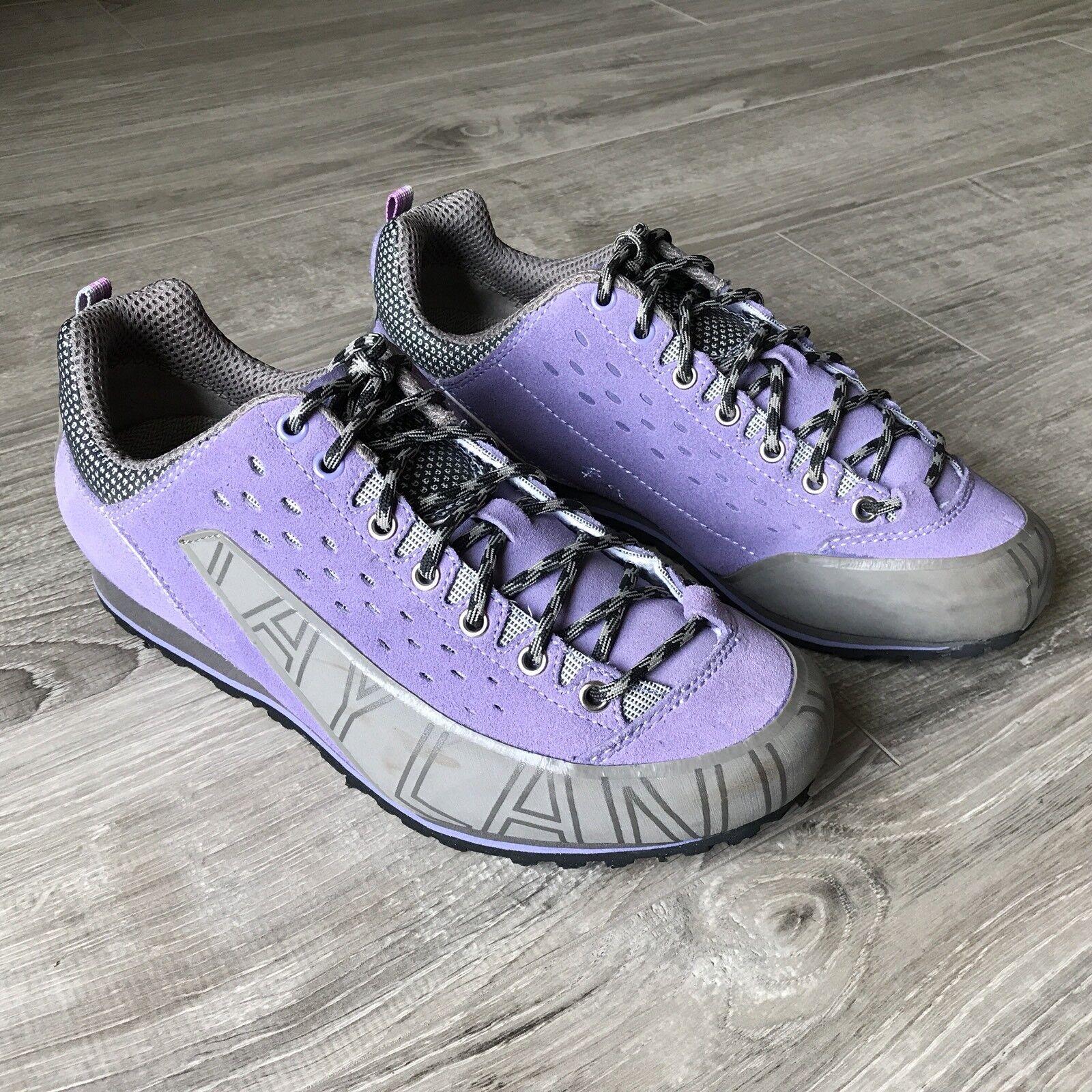 Kayland COMET Women's Shoes Purple Suede Hiking Climbing Outdoors Sz. 9