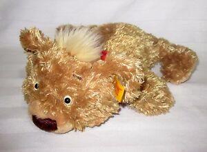 Steiff-Floppy-Teddy-Bear-Cub-Plush-Red-Bandana-Soft-Play-Toy