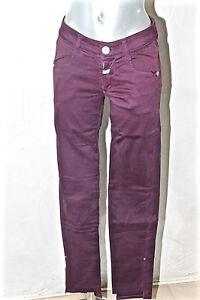 Elasticizzato Jeans 40 Chino Viola Marithé Carino Francois Girbaud Ho 27 Taglia qEwC1dd4n