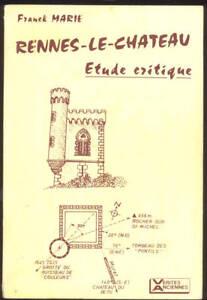 FRANCK-MARIE-RENNES-LE-CHATEAU-ETUDE-CRITIQUE-TRES-RARE