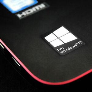10 X Windows 10 Pro Sticker Badge White Logo Transparent Background Hd Quality Ebay